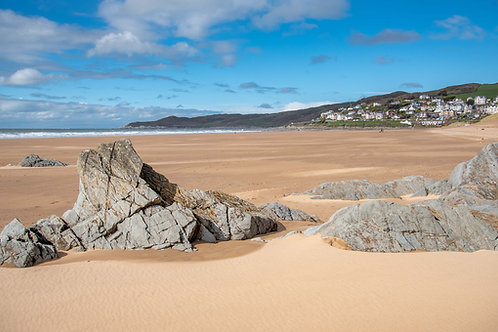 Woolacombe from Mill Rock