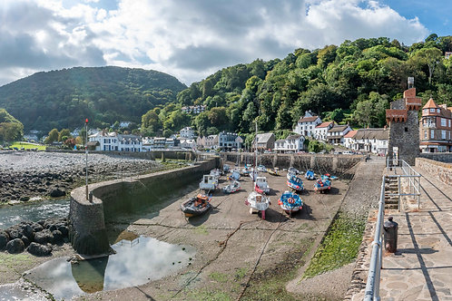 Low Tide Lynmouth