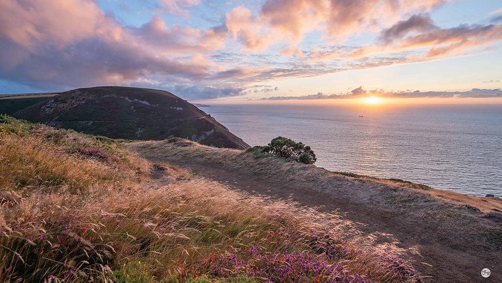 Summer Sunset from Highveer Point