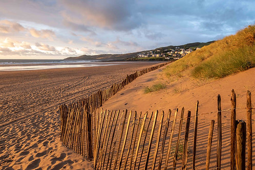 Golden Fence - Woolacombe