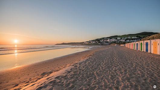 Beach Huts at Sunset - Rachel.jpg