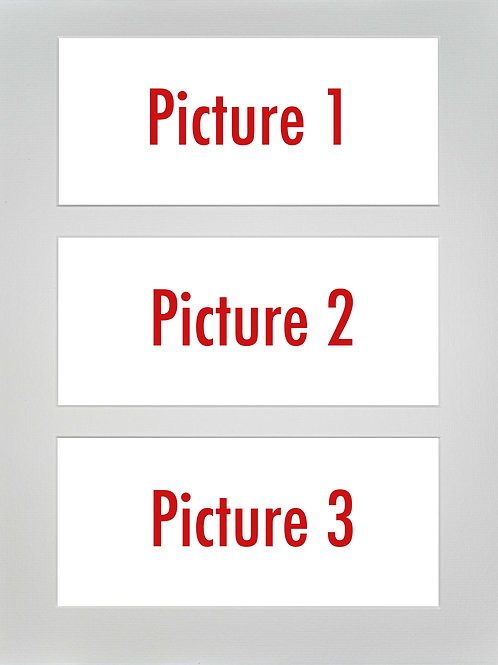 Triple Mounted Picture - Pick n Mix