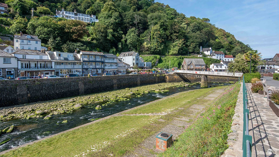Lynmouth Over the River Lyn