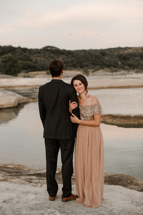 non white elopement dress