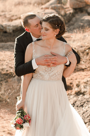 Enchanted Rock State Park Elopement