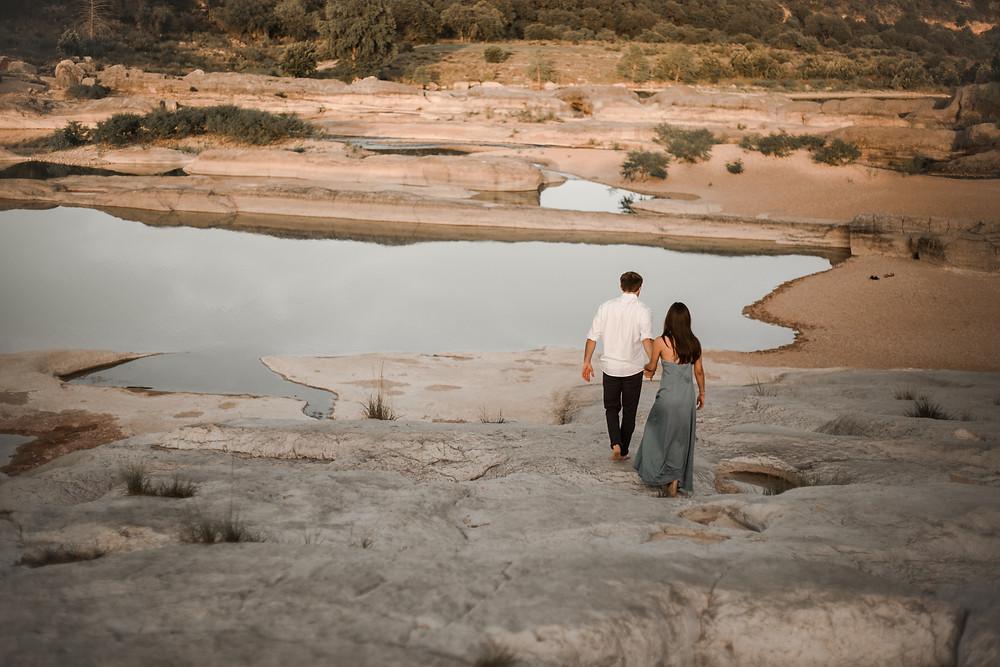 Pedernales Falls State Park Austin, TX Engagement Session