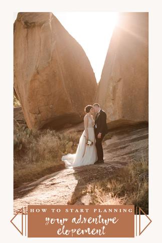 How to plan an adventurous ish elopement