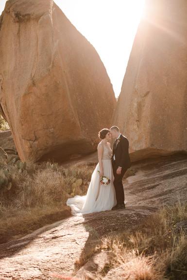 Enchanted Rock Elopement Desert Elopemen