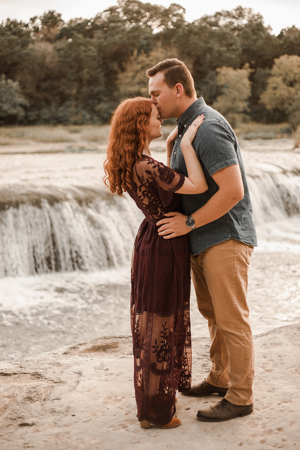 Bull Creek Austin Engagement Pictures