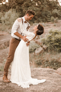 Enchanted Rock Elopement Private First Dance