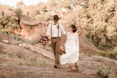 Adventure Elopement Enchanted Rock State Park