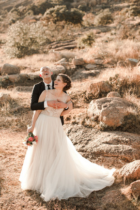 Enchanted Rock State Park Elopement Fun