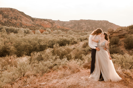 Palo Duro Canyon Elopement
