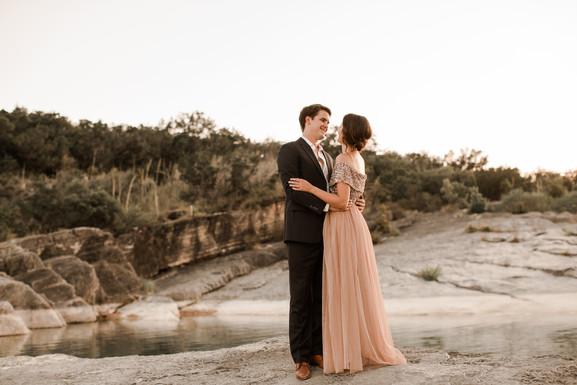 Pedernales Falls Elopement Texas