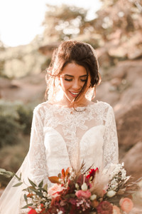 Enchanted Rock Fall Windy Bridals