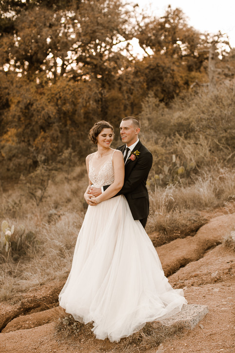 Enchanted Rock Lake Elopement