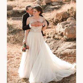 mary + charles | fall enchanted rock elopement | fredricksburg, tx