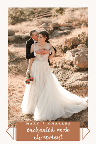 Enchanted Rock Elopement Mary + Charles