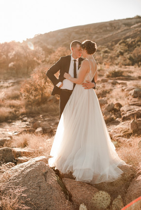 Enchanted Rock Desert Elopement