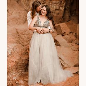 amelia + matthew | palo duro canyon elopement