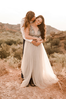 Palo Duro Canyon Intimate Wedding