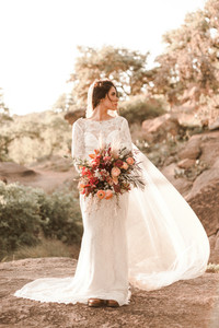 Enchanted Rock Bridals Veil in the Wind