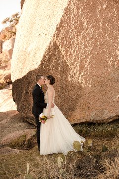 Enchanted Rock Elopement First Look
