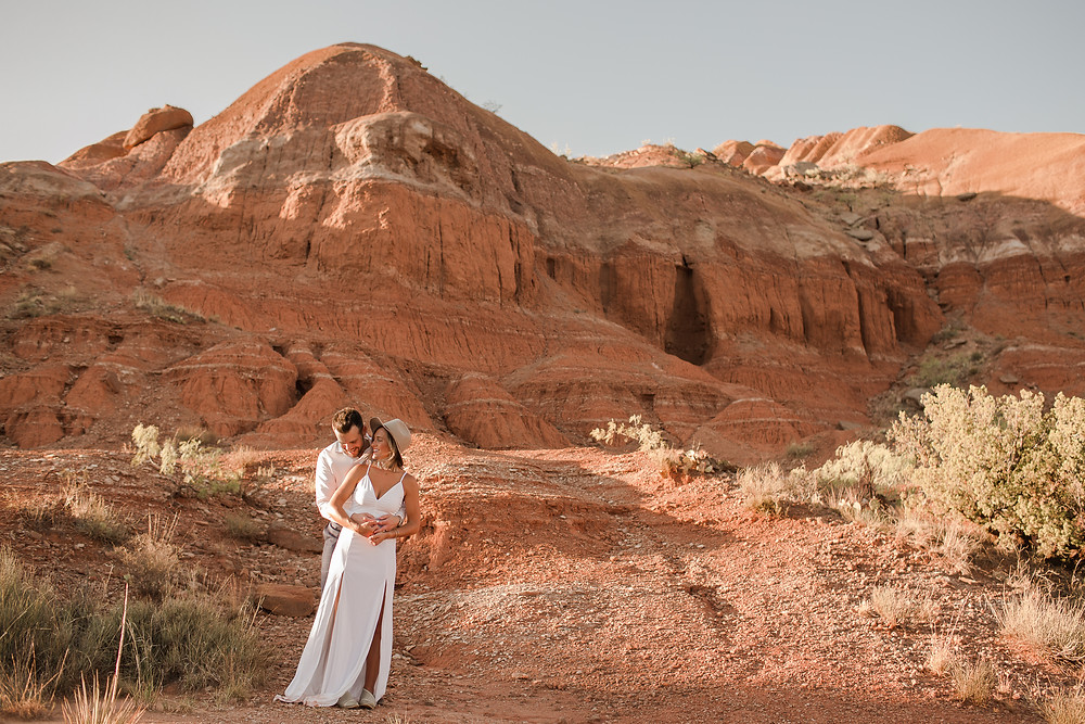 Palo Duro Canyon Elopement - Desert Elopement