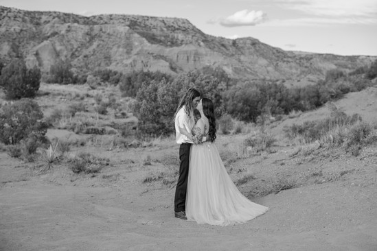 Texas Desert Elopement