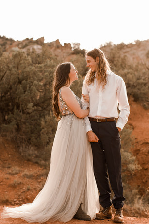 Adventurous Desert Elopement Texas