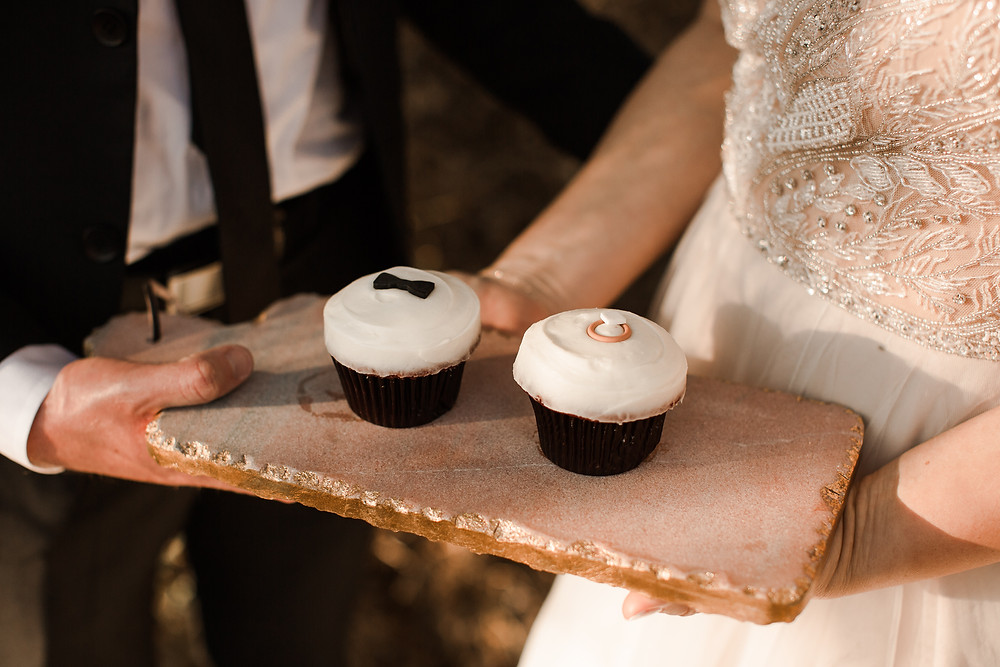 Fall Enchanted Rock Elopement at Golden Hour Cupcakes