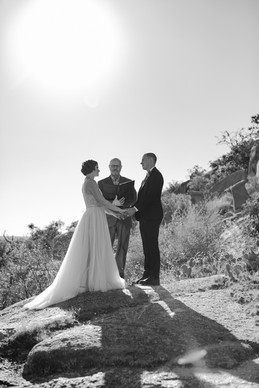 Elopement at Enchanted Rock