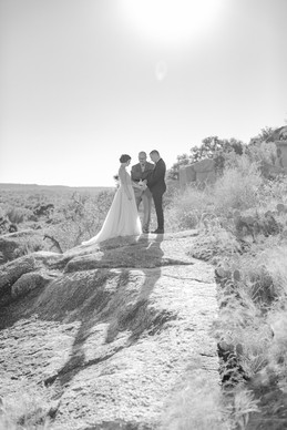 Eloping in Enchanted Rock