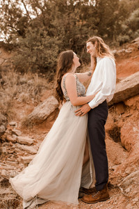 Texas Adventure Elopement Palo Duro Canyon