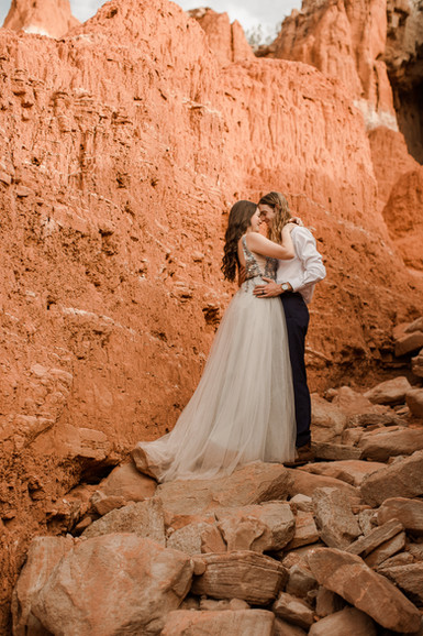 Palo Duro Canyon Elopement Photographer