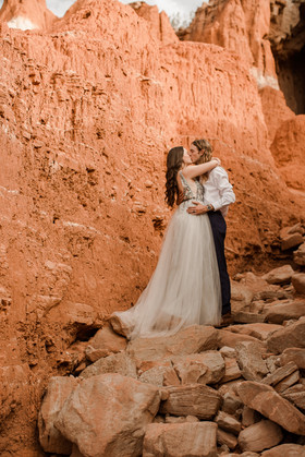 Palo Duro Canyon Wedding Photographer