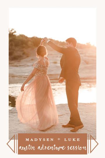 Austin Pedernales Falls elopement