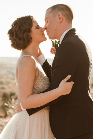 Beautiful November Elopement at Enchanted Rock