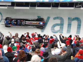 The Night Train, by Mike Brewster, is the story of the NASCAR-inspired bobsled that beat the world