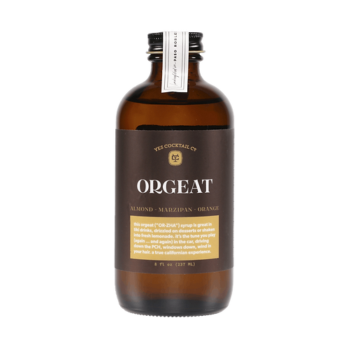 Yes Cocktail Orgeat Syrup