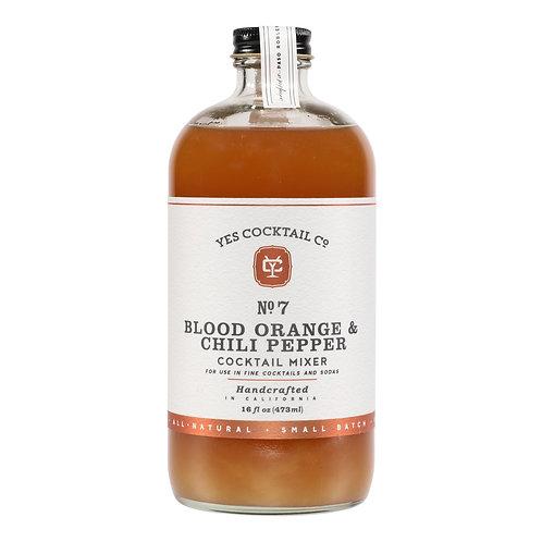 Yes Cocktail Blood Orange + Chili Pepper Elixir