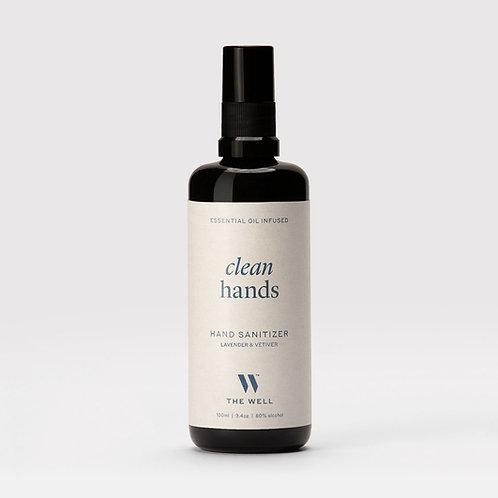 Lavender and Vetiver Infused Hand Sanitizer