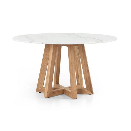Malmo White Marble Table