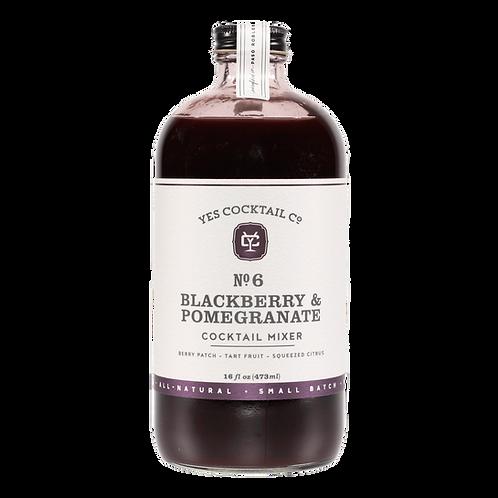 Yes Cocktail Blackberry-Pomegranate Elixir
