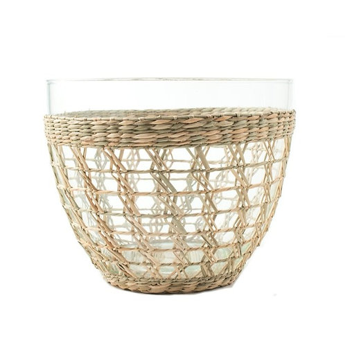 Seagrass Serving Bowl