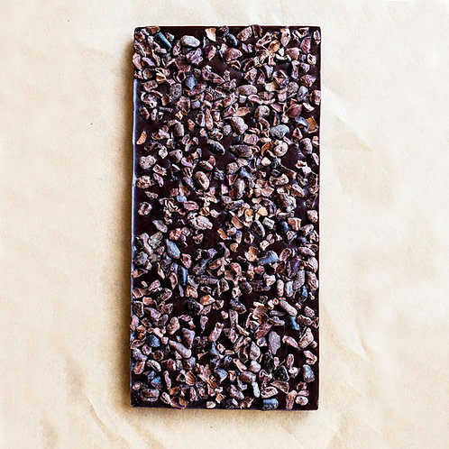 Wildwood Chocolate Nib Chocolate Bar