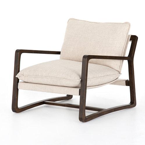 Seattle Chair - Cream Linen Twill