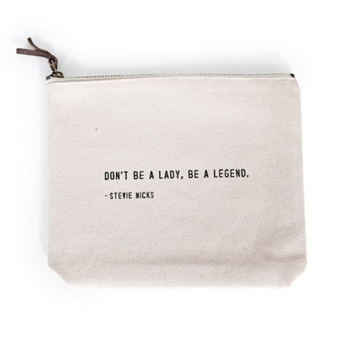 Stevie Nicks Canvas Pouch