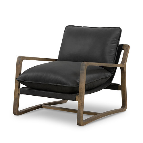 Seattle Chair -Black Leather