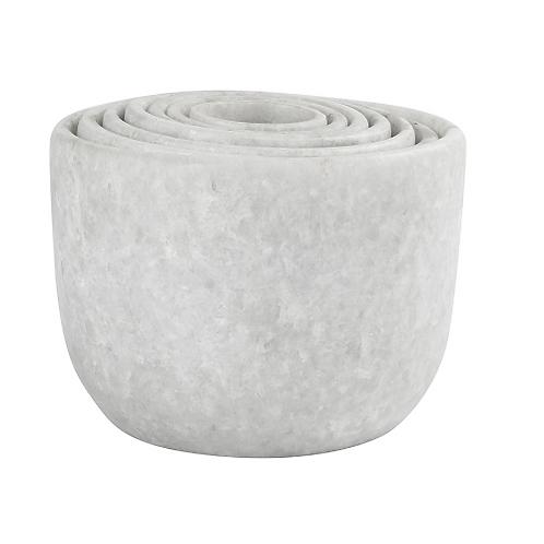 Marble Nesting Bowls. Set of 7